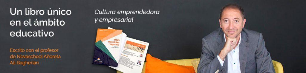 Portada del libro Cultura emprendedora y empresarial