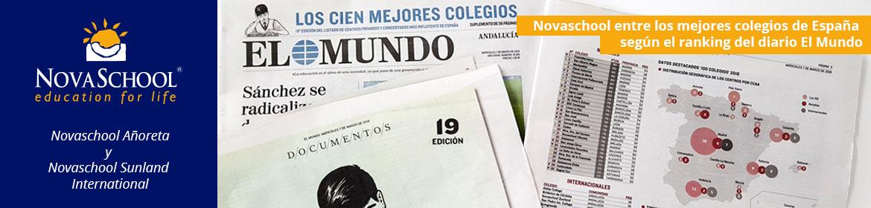 Novaschool Añoreta es uno de los 100 mejores colegios de España