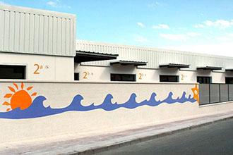 Fachada de la escuela infantil de Marbella Fuentenueva