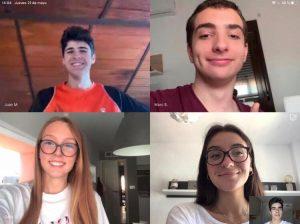 Alumnos ganadores Desafío Empresarial ESIC