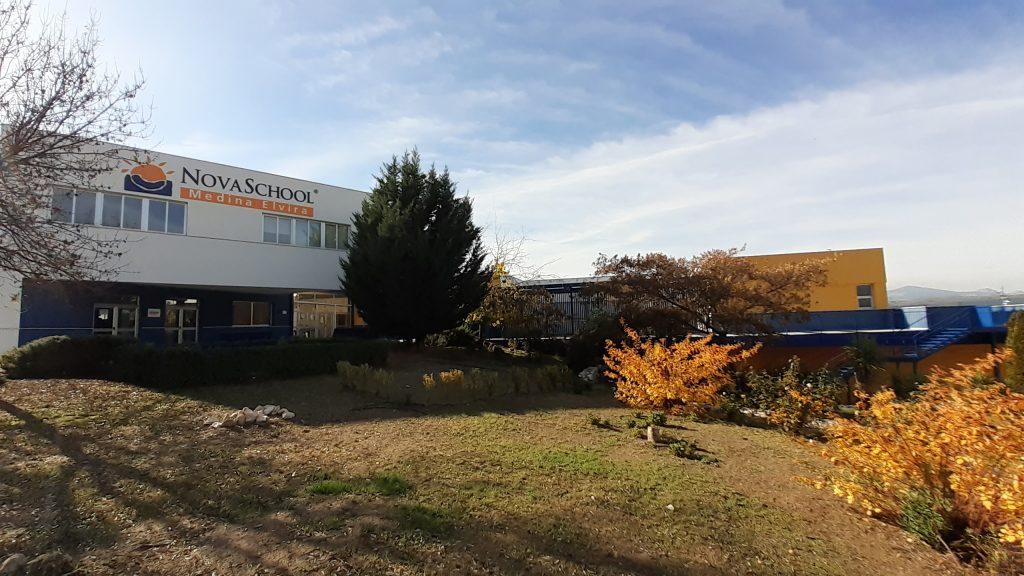 Vista del hotel escolar del colegio de Atarfe